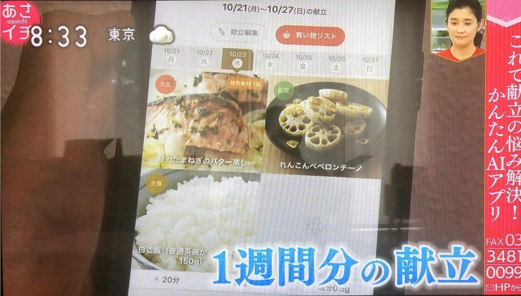 nhk 朝 イチ 料理 今日